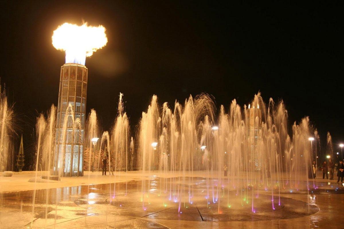 جاهای دیدنی تهران پارک آب و آتش جاهای دیدنی تهران (100 جاذبه گردشگری تهران)