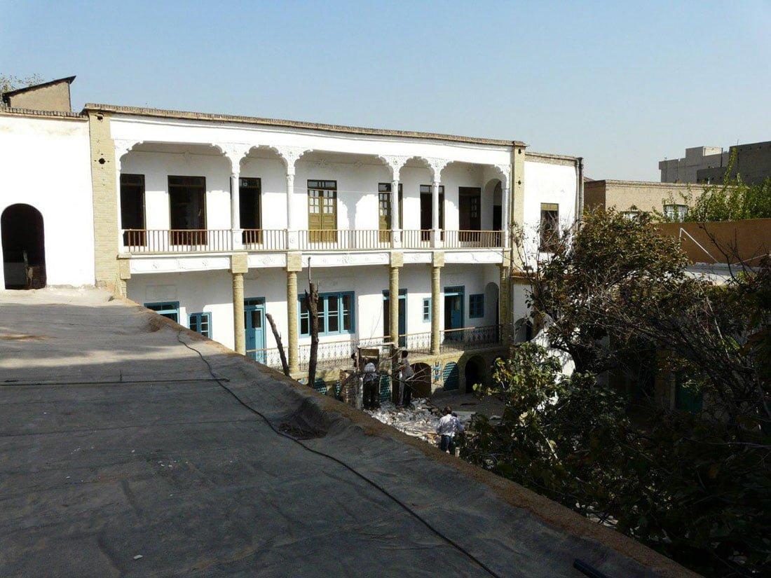خانه موتمن الاطباء تهران (خانه سریال شهرزاد )