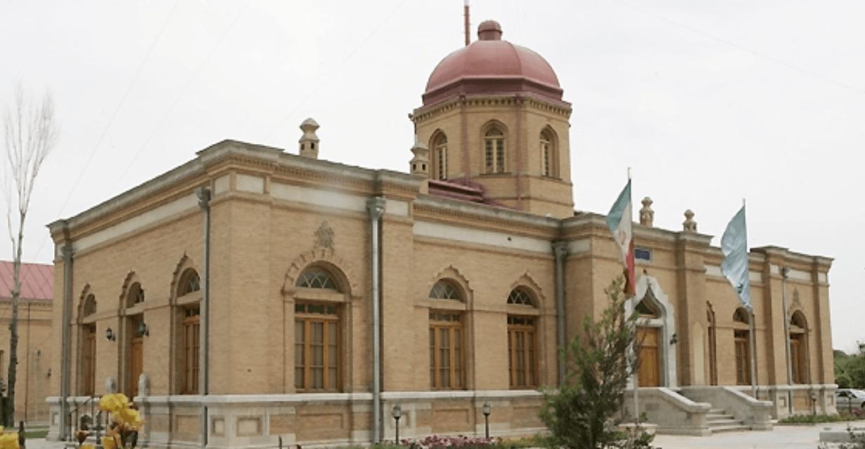 عمارت کلاه فرنگی بیسیم تهران