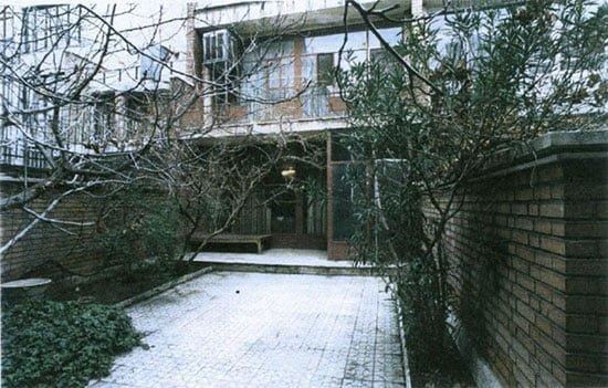 منزل استاد محمد علی سپانلو تهران
