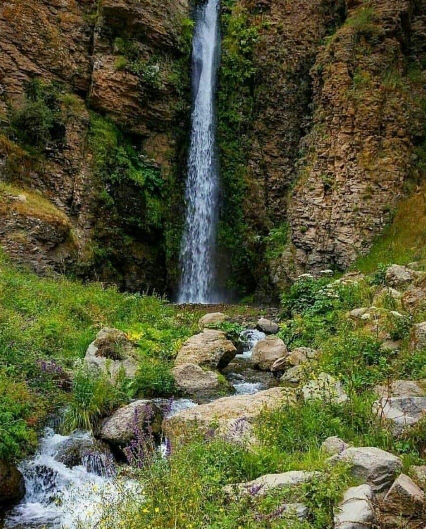 آبشار کرکری آبشار کرکری مشگین شهر