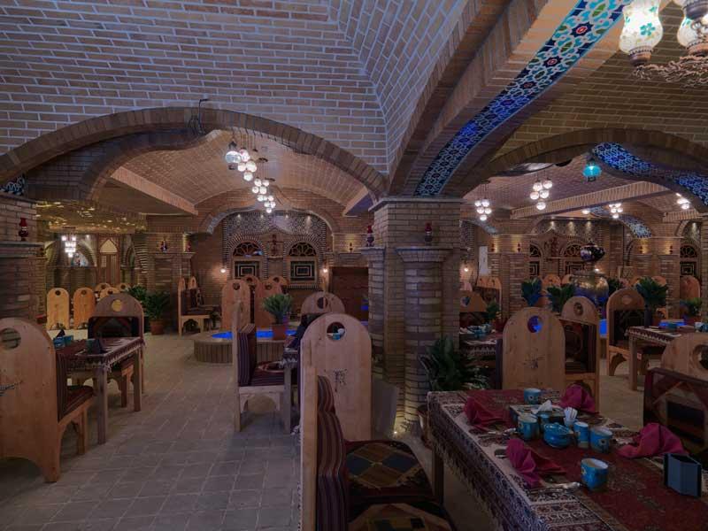رستوران سنتی ترمه هتل فردوسی