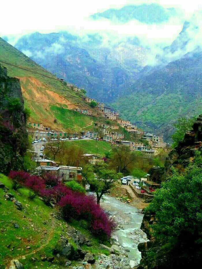روستای سلین کردستان