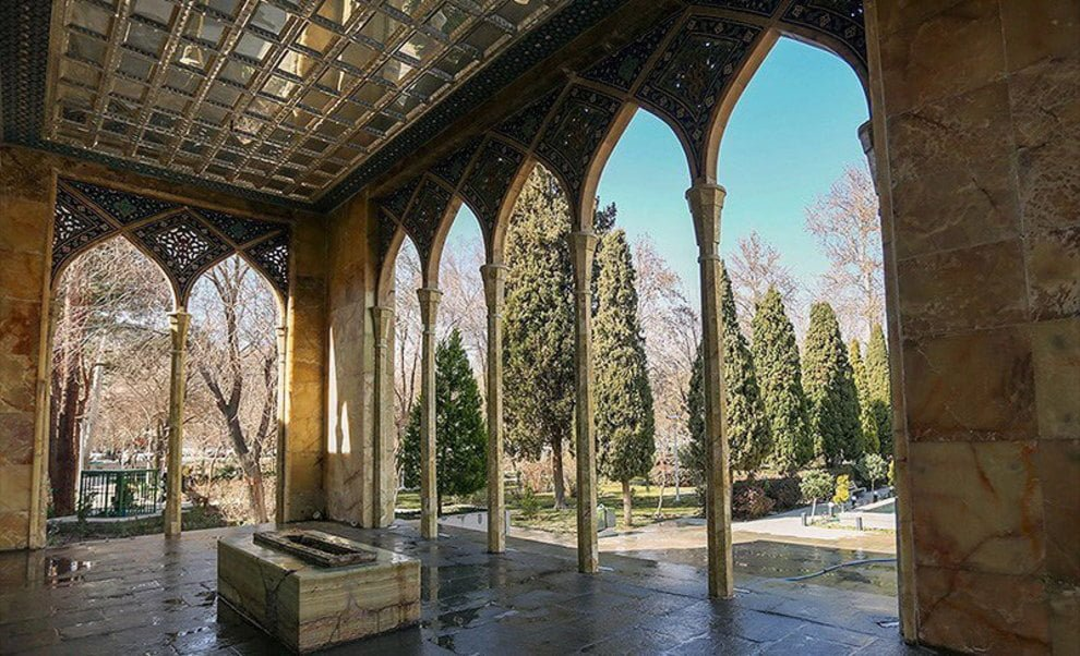 آرامگاه صائب تبریزی اصفهان آرامگاه صائب تبریزی اصفهان