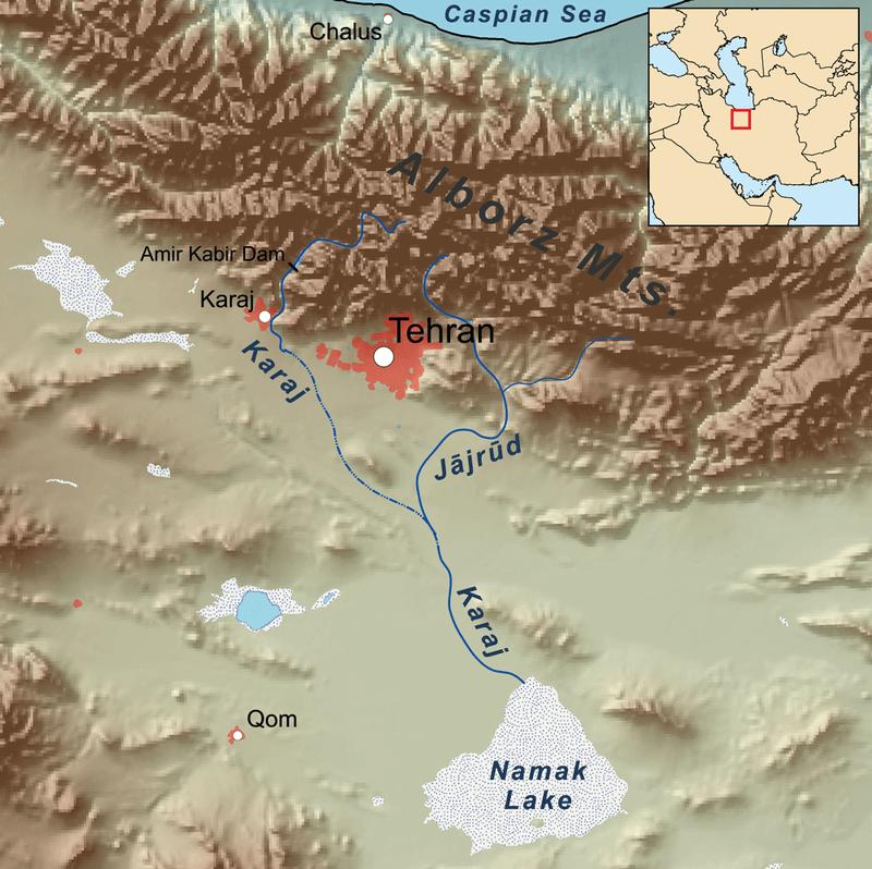 رودخانه جاجرود