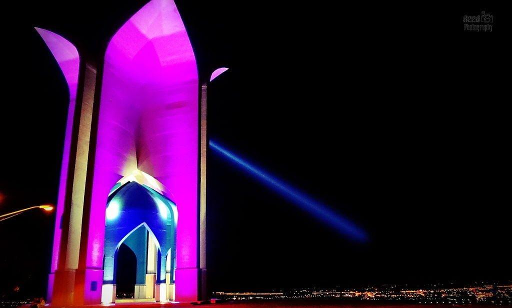 یادمان شهدای گمنام قزوین