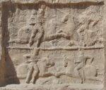 سنگنگاره پیروزی بهرام دوم نقش رستم
