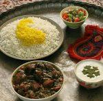 طرز تهیه قورمه سبزی عربی