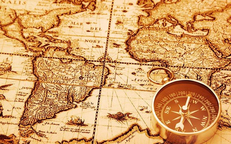 نقشه  دلیل وجود جهت شمال در بالای نقشه