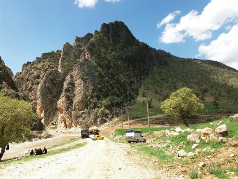روستای میان تنگ منصوری اسلام آباد غرب