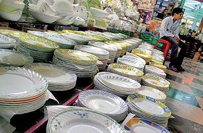 بازار ظروف