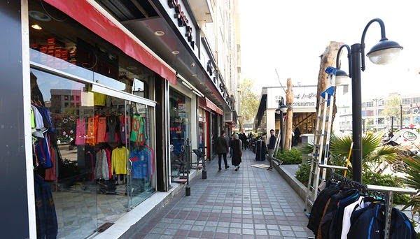 خیابان منیریه  راسته لوازم ورزشی در تهران