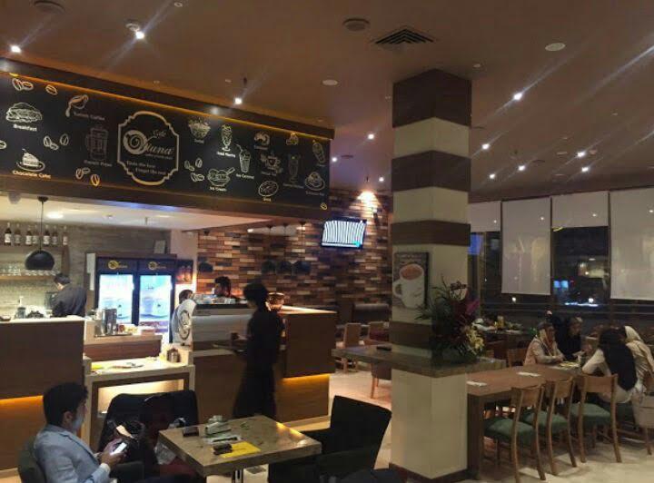 کافه ویونا شعبه سعادت آباد