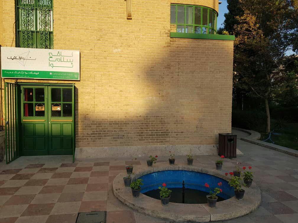 کافه سلامت نوا برترین رستورانهای گیاهی در تهران