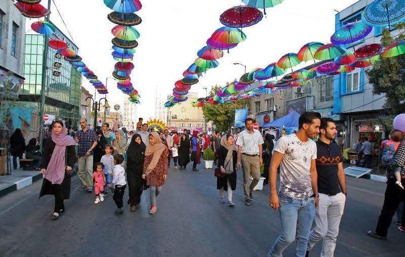 خیابان سبزه میدان زنجان 20 جای دیدنی زنجان در تابستان