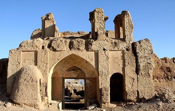 کاروانسرای قلعه شور جاهای دیدنی اصفهان (100 جاذبه گردشگری اصفهان)
