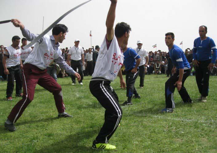 بازی محلی قیش بازی زنجان  بازی محلی قیش بازی زنجان
