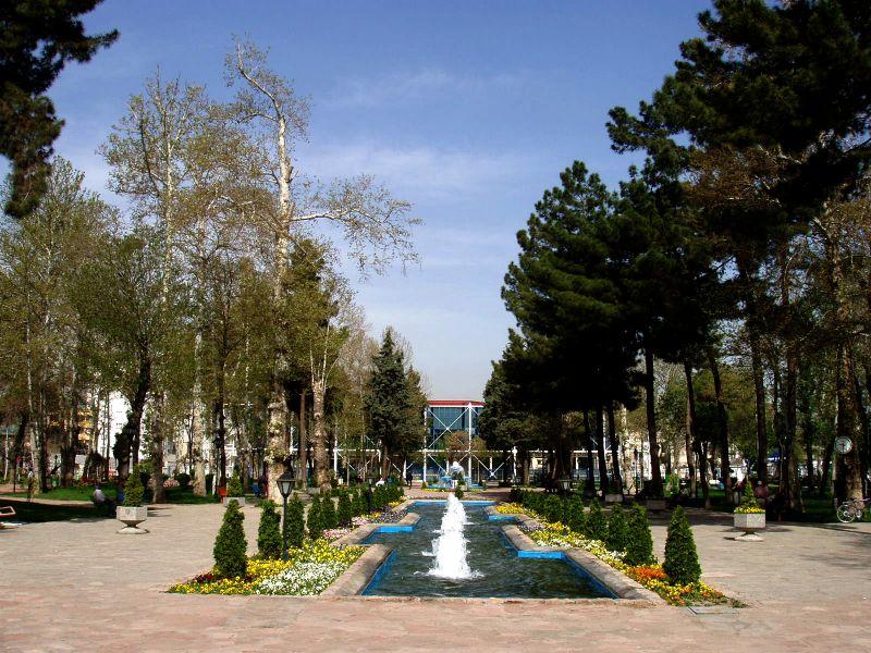 باغ ملی جاهای دیدنی مشهد ،100 جاذبه گردشگری معروف