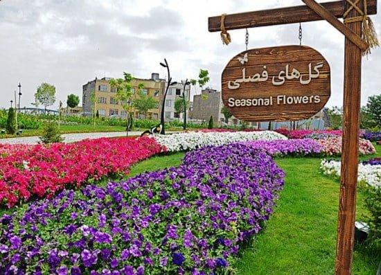 باغ گلهای از جاهای دیدنی مشهد جاهای دیدنی مشهد ،100 جاذبه گردشگری معروف