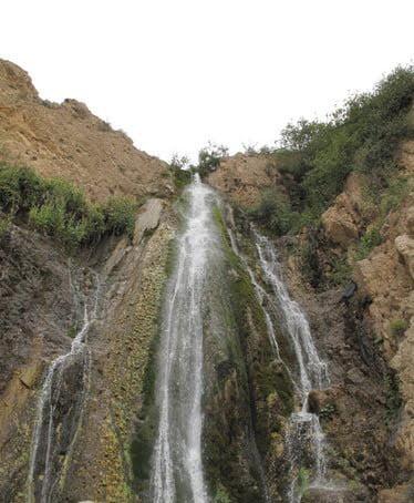 روستای ترا و آبشارش