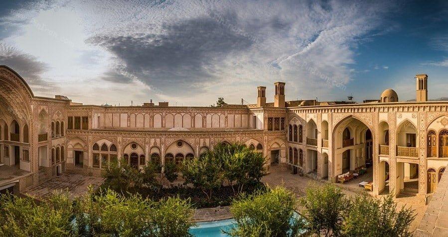 سرای عامریهای کاشان هتل های عجیب و غریب ایران