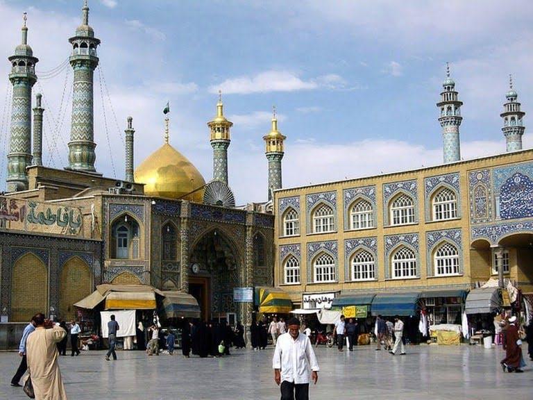 -قم هفت مکان متفاوت و دیدنی در ایران