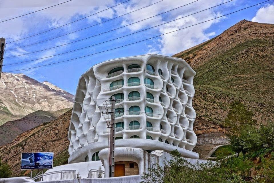 هتل بارین شمشک هتل های عجیب و غریب ایران