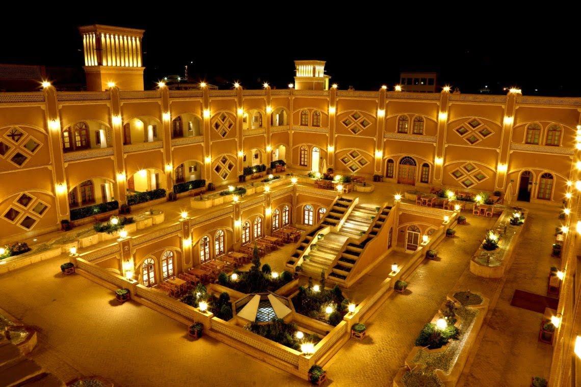 هتل داد یزد هتل های عجیب و غریب ایران