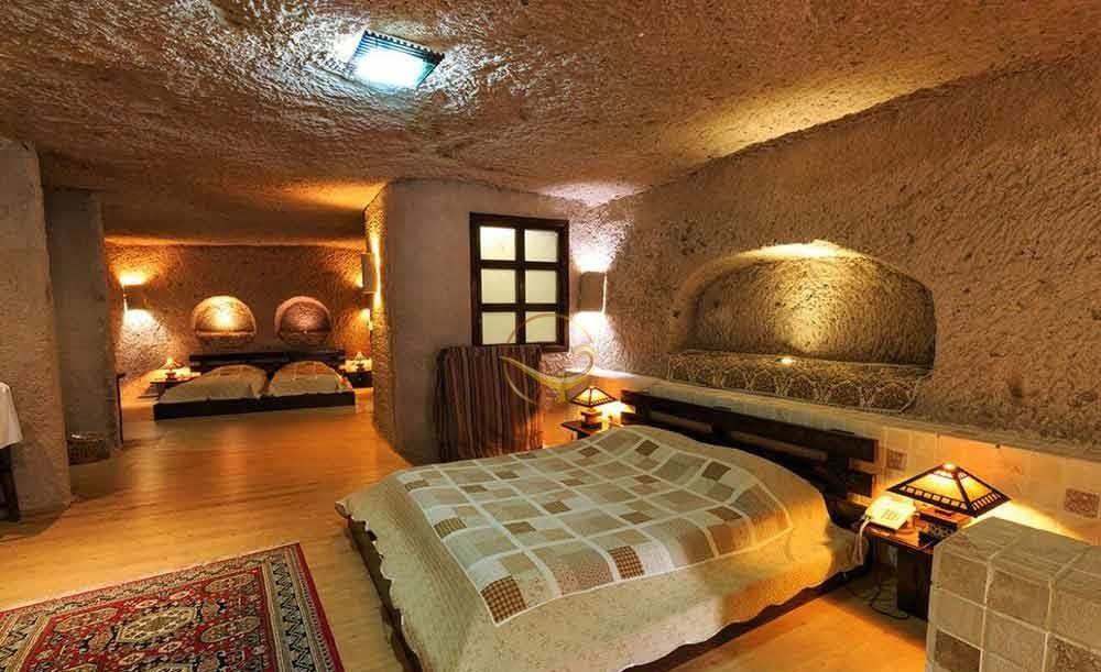 هتل سنگی لاله کندوان هتل های عجیب و غریب ایران
