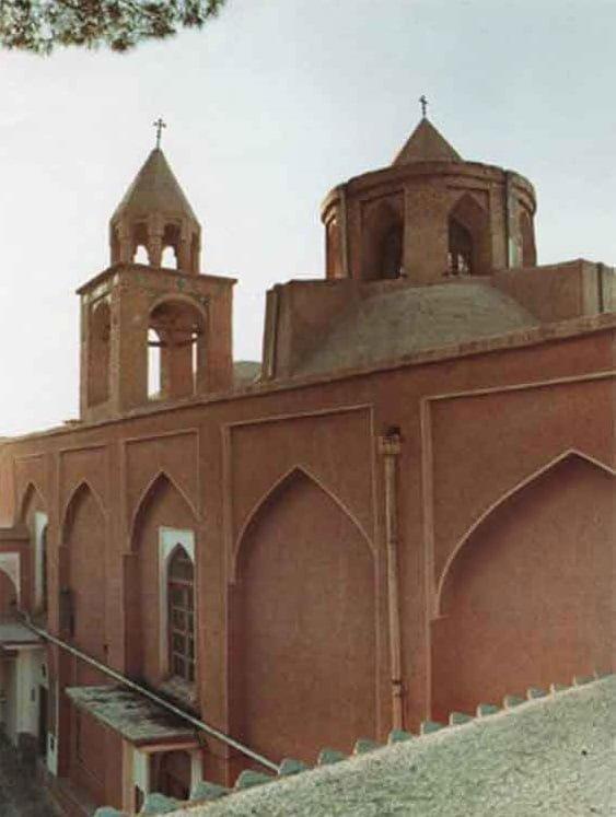 کلیسای نرسس جاهای دیدنی اصفهان (100 جاذبه گردشگری اصفهان)