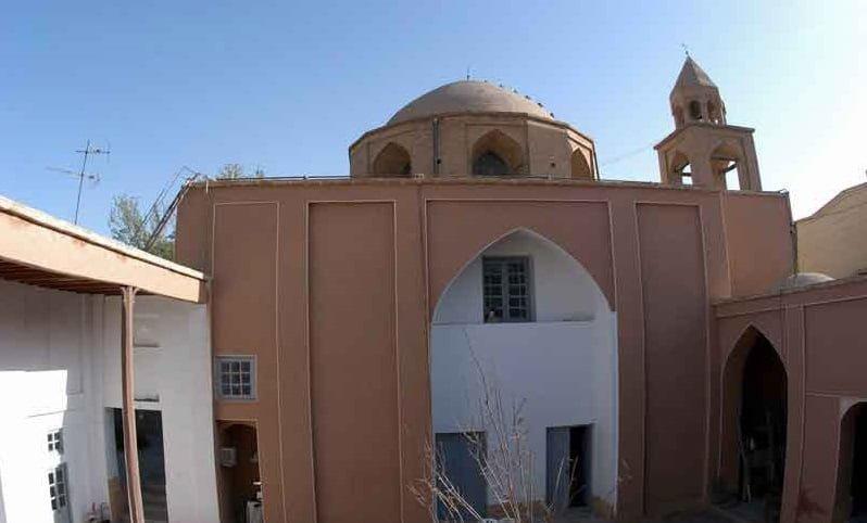 کلیسای نیکاغایوس جاهای دیدنی اصفهان (100 جاذبه گردشگری اصفهان)