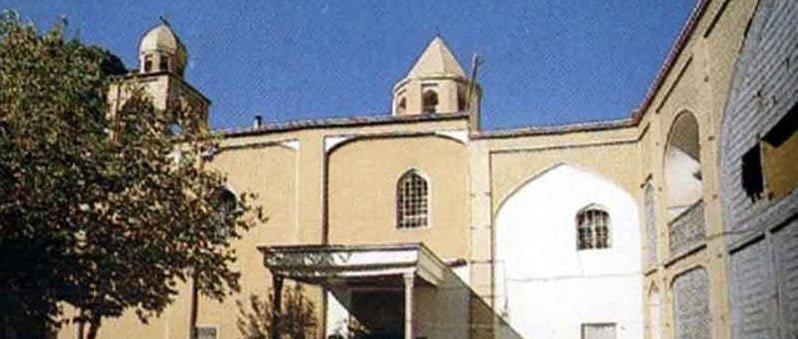 کلیسای گریگور جاهای دیدنی اصفهان (100 جاذبه گردشگری اصفهان)