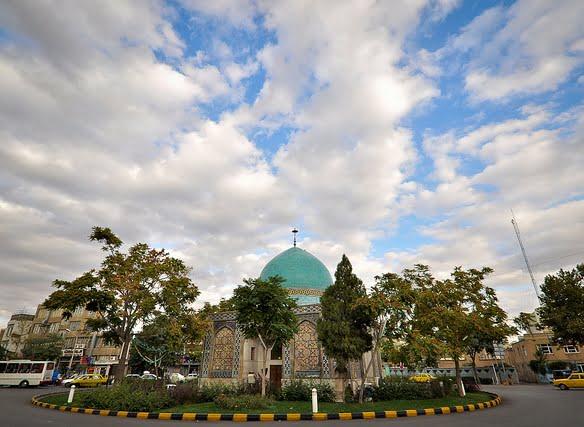 گنبد سبز جاهای دیدنی مشهد ،100 جاذبه گردشگری معروف