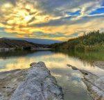 رودخانه شور بهاباد، تنها رودخانه دائمی بهاباد