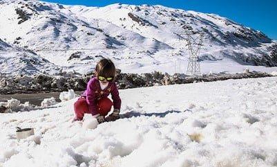 تاراز؛ بهشت پنهان و برفی خوزستان تاراز؛ بهشت پنهان و برفی خوزستان