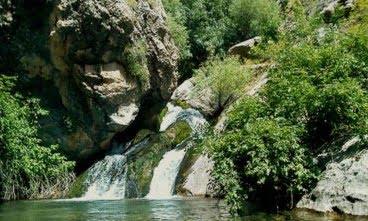 رودخانه ی آق بند گنبدکاووس