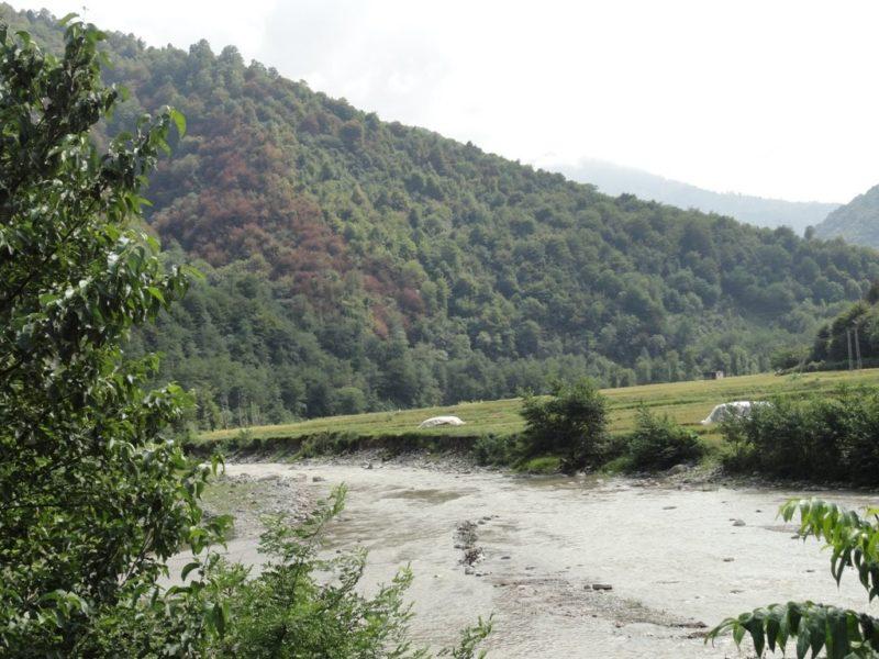 رودخانه ی گرمابدشت