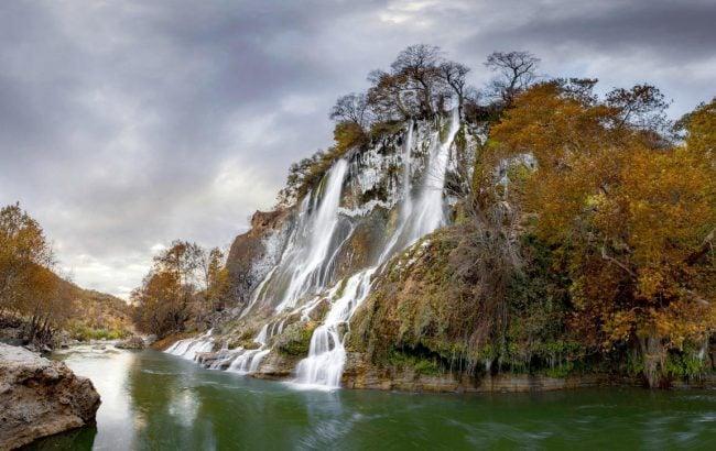آبشار بیشه 40 جاهای دیدنی خرم آباد لرستان
