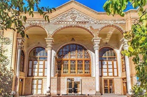 خانه علوی ، موزه زنده سفال در تبریز خانه علوی ، موزه زنده سفال در تبریز
