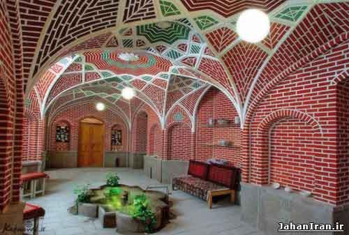 خانه علوی، موزه زنده سفال در تبریز خانه علوی ، موزه زنده سفال در تبریز