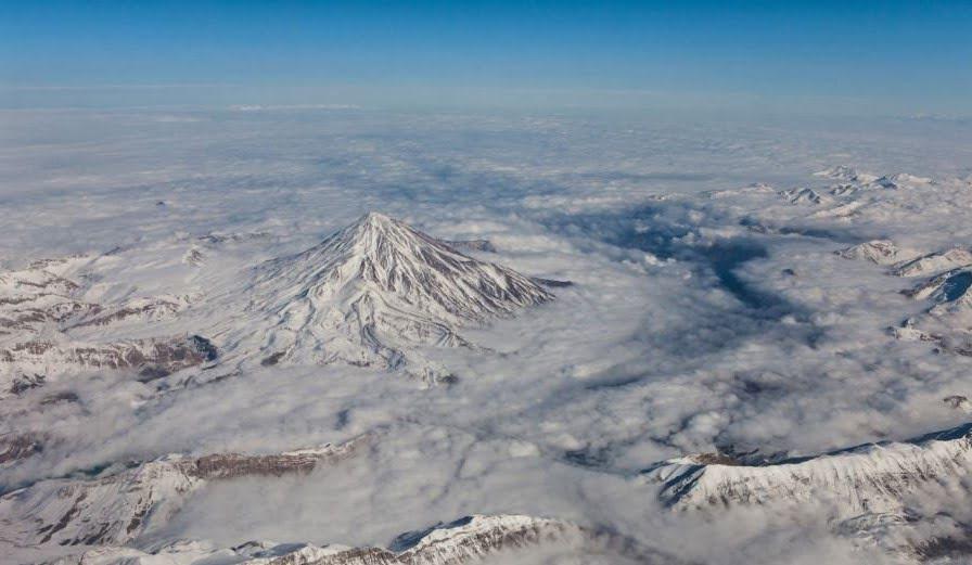 کوه های آتشفشانی ایران
