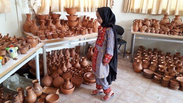سفالگری سیستان  صنایع دستی سیستان و بلوچستان