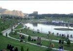 پارک زیبا کنار خرم آباد
