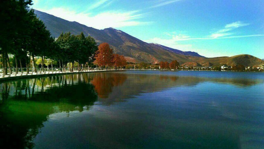 پارک زیبا کنار خرم آباد 40 جاهای دیدنی خرم آباد لرستان