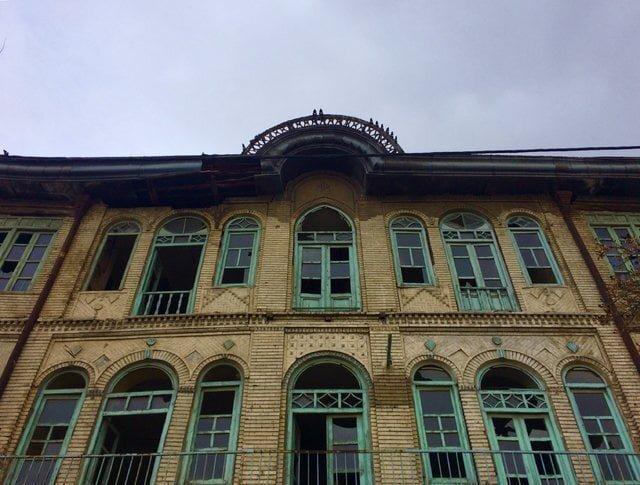 عمارت جنانی ،بلندترین ساختمان شهر همدان درآستانه تخریب عمارت جنانی ، بلندترین ساختمان شهر همدان درآستانه تخریب
