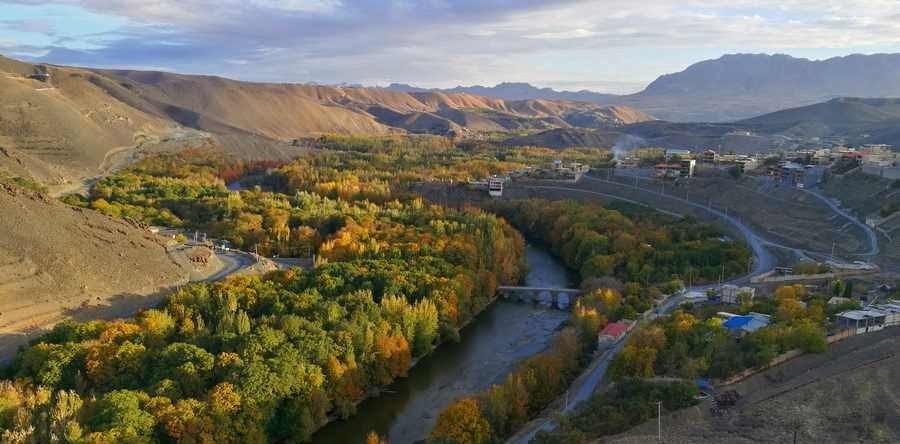 روستای زیبای هوره سامان