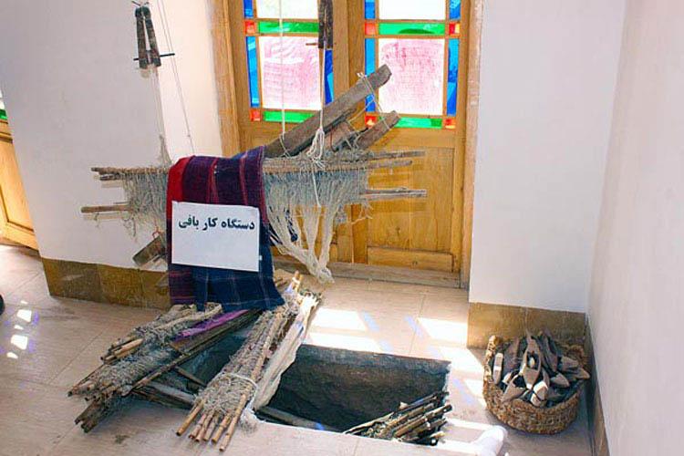 موزه مردم شناسی بهاباد (خانه صالحی) موزه مردم شناسی بهاباد