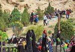 جشن چلمو ، مراسم چهلم نوروز