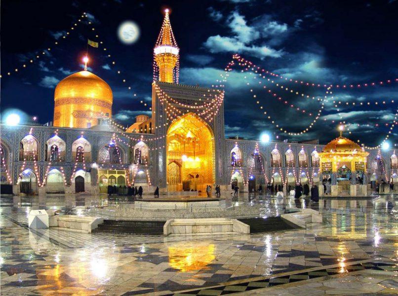 حرم امام رضا تب مسافرت تابستانی پساکرونا - تور مشهد