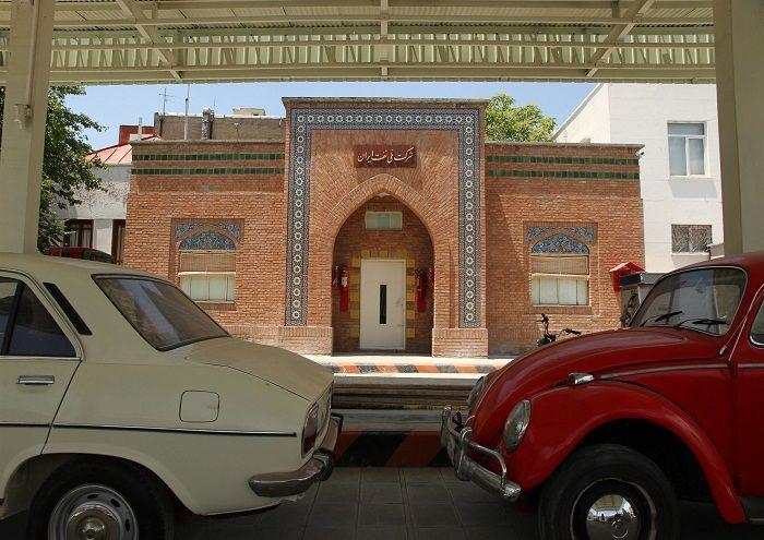 موزه پمپ بنزین دروازه دولت تهران موزه پمپ بنزین دروازه دولت تهران